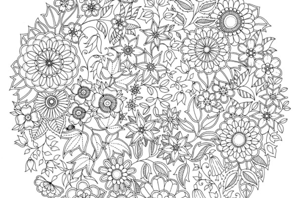Coloriage Anti Stress Pour Adulte A Telecharger Gratuitement