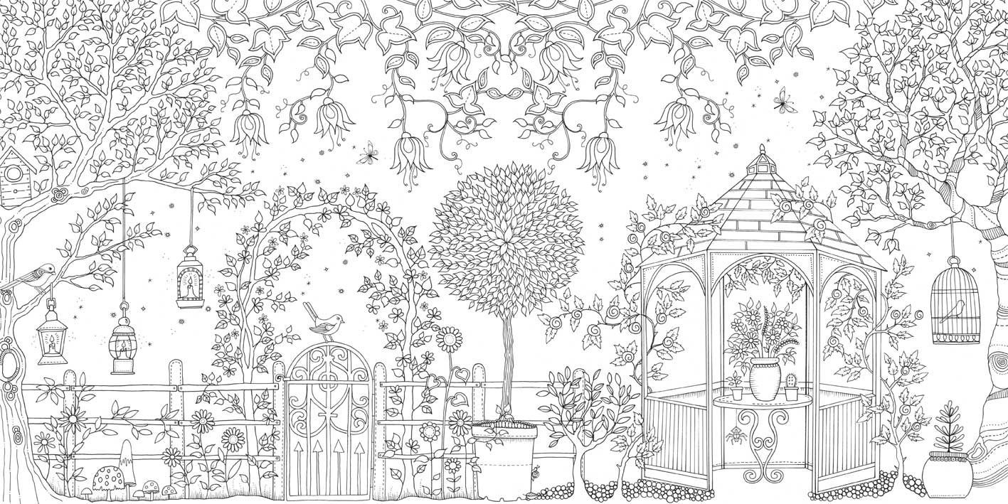 Coloriage anti stress pour adulte t l charger gratuitement for Giardino h stern