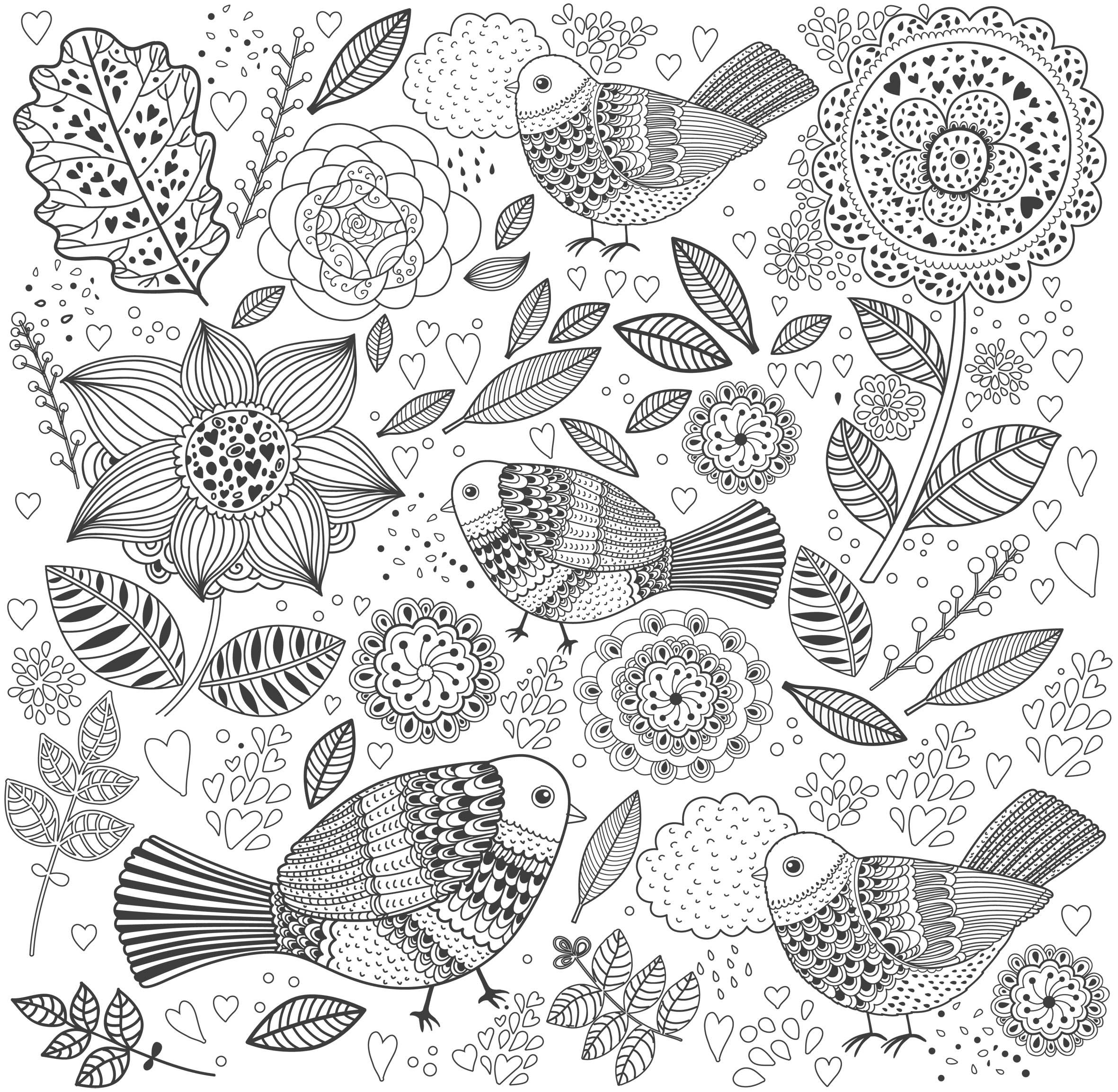 coloriage anti stress adulte en ligne